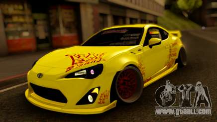 Toyota GT-86 326 Power for GTA San Andreas