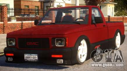 GMC Syclone for GTA 4