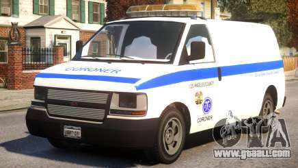 Los Angeles Coroner Van for GTA 4