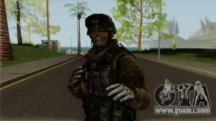 Multicam Ranger from Call of Duty: MW2 for GTA San Andreas