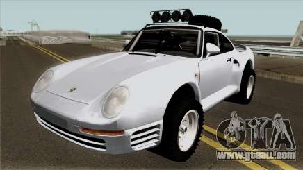 Porsche 959 Rusty Rebel 1987 for GTA San Andreas