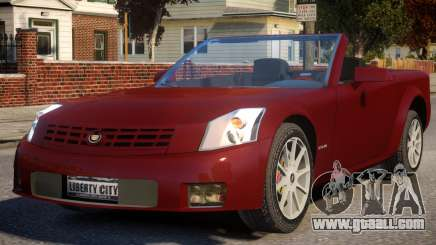 2004 Cadillac XLR for GTA 4