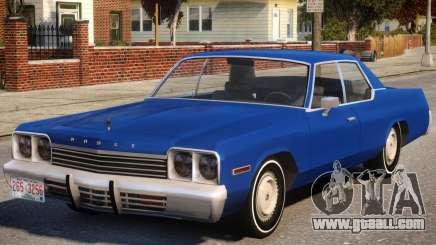 1974 Dodge Monaco V1.2 for GTA 4