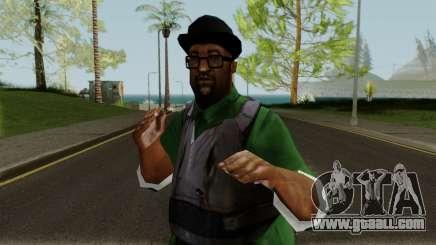 Big Smoke with Gunshots for GTA San Andreas