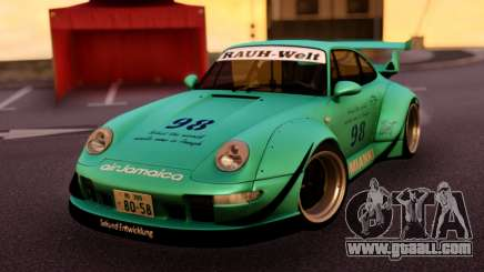 Porsche 993 GT2 RWB LOMIANKI for GTA San Andreas