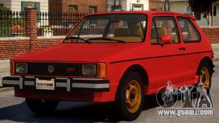 1984 Volkswagen GTI-Rabbit for GTA 4