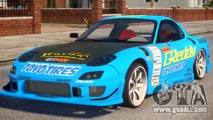 Mazda RX-7 Greddy for GTA 4