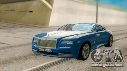 Rolls-Royce Wraith for GTA San Andreas