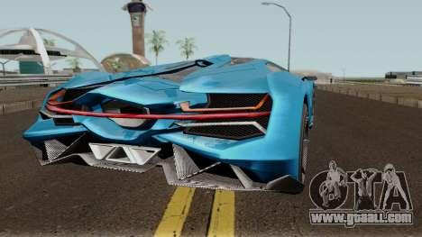 Pegassi Millennium GTA V IVF for GTA San Andreas right view