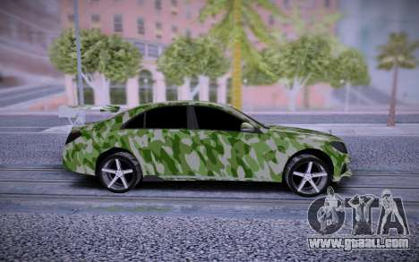 Mercedes-Benz S63 AMG Tuning for GTA San Andreas