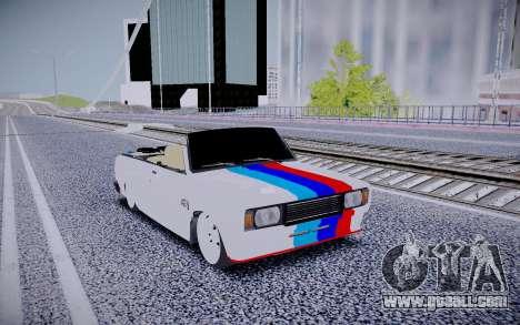 VAZ 2104 Convertible for GTA San Andreas