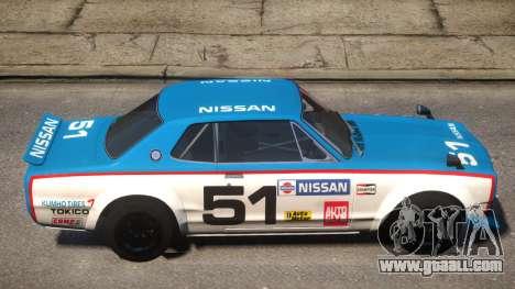 Nissan Skyline 2000GT-R PJ for GTA 4