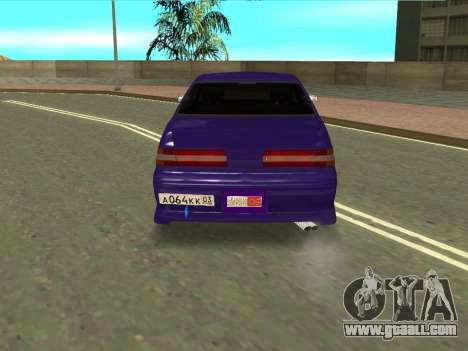Toyota MarkII JZX100 for GTA San Andreas right view