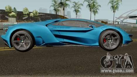 Pegassi Millennium GTA V IVF for GTA San Andreas back view