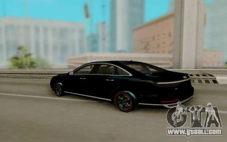 Audi A8 2018 for GTA San Andreas left view