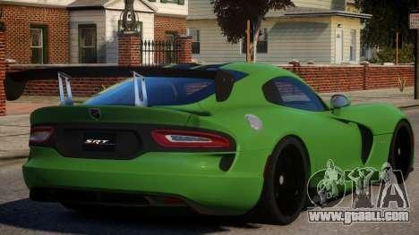 Dodge Viper 2013 PJ2 for GTA 4