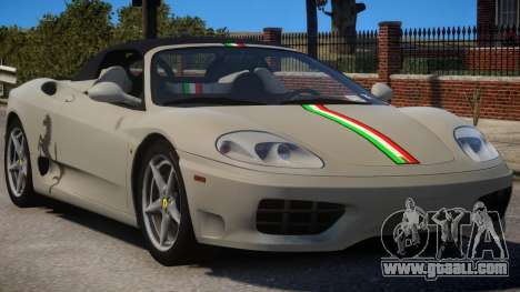 2000 Ferrari 360 Spider V1.3 for GTA 4