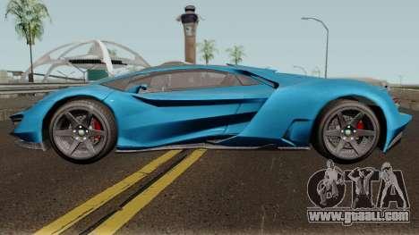 Pegassi Millennium GTA V IVF for GTA San Andreas left view