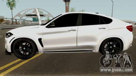 BMW X6M for GTA San Andreas left view