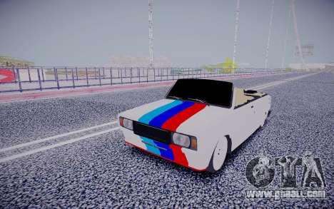VAZ 2104 Convertible for GTA San Andreas back view