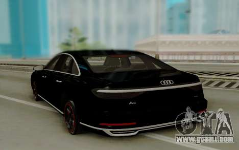 Audi A8 2018 for GTA San Andreas right view