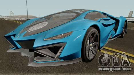 Pegassi Millennium GTA V IVF for GTA San Andreas