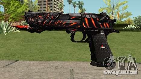 Desert Eagle Born Beast for GTA San Andreas