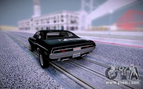 Dodge Challenger RT 1970 for GTA San Andreas