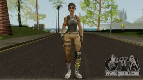 Ramirez From Fortnite for GTA San Andreas