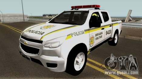 Chevrolet S-10 Brazilian Police for GTA San Andreas