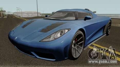 Overflod Entity XXR GTA V for GTA San Andreas