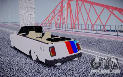 VAZ 2104 Convertible for GTA San Andreas back left view