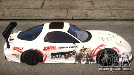 KJC Mazda RX-7 PJ2 for GTA 4