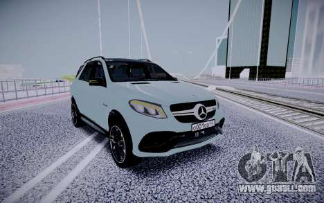 Mercedes-Benz GLE 63S for GTA San Andreas