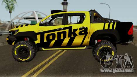 Toyota Hilux Tonka Concept 2017 for GTA San Andreas