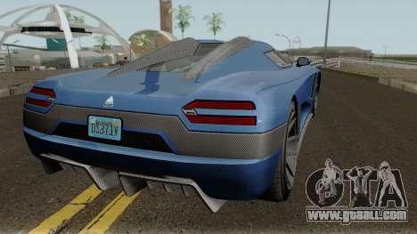 Overflod Entity XXR GTA V for GTA San Andreas right view