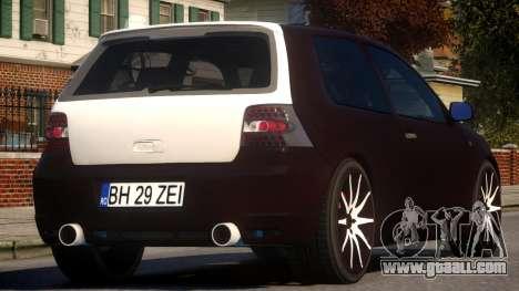 VW Golf IV for GTA 4