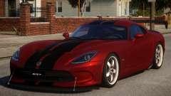 Dodge Viper 2013 PJ1 for GTA 4