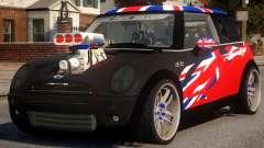 Mini Cooper S V8 UK for GTA 4