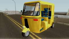 Real Indian Rickshaw for GTA San Andreas