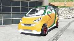 Smart ForTwo 2012 v2.0 [replace] for GTA 5