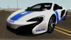 McLaren 650S Spyder Algeria Police v1.0 for GTA San Andreas