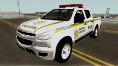 Chevrolet S-10 Brazilian Police for GTA San Andreas