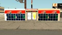 New Liquor Store with Products of The Year 1992 for GTA San Andreas