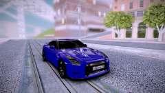 Nissan GT-R R35 Dima Gordey for GTA San Andreas