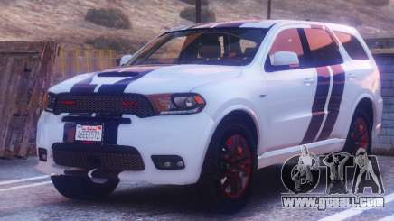 Dodge Durango SRT HD 2018 1.6 for GTA 5