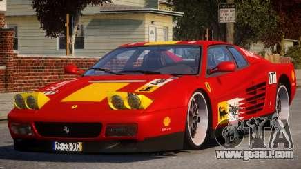 ViP Ferrari 512 TR PJ3 for GTA 4