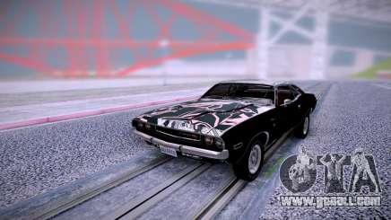 Dodge Challenger RT 1970 for GTA San Andreas
