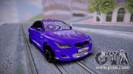 BMW M5 E60 Night v.2.0.0 Tuning for GTA San Andreas