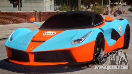 Ferrari LaFerrari PJ for GTA 4
